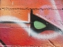 Bookmarker Street art