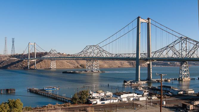 Carquinez Straits Bridge-