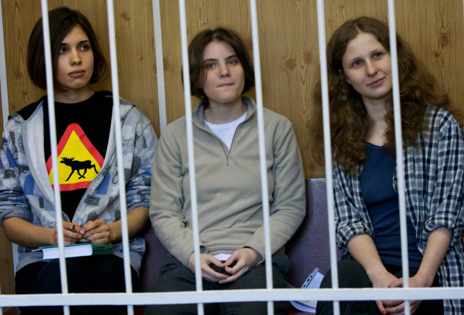 Pussy Riot in jail