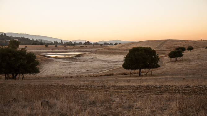 Felt Lake, irrigation water for the Stanford University Campus