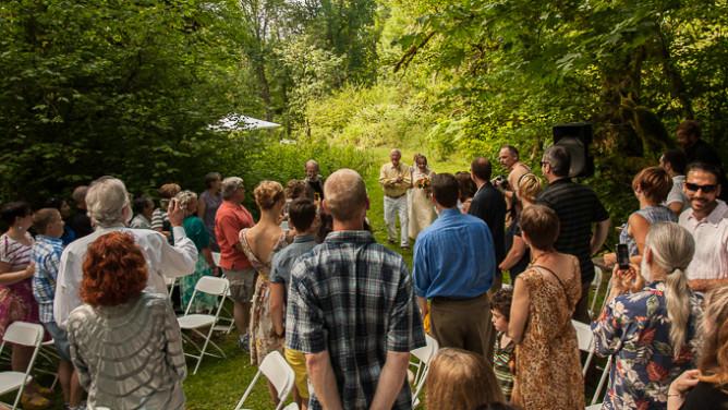 A wedding-
