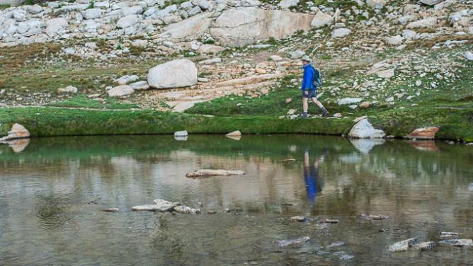 Sadlebag Lake area -9815
