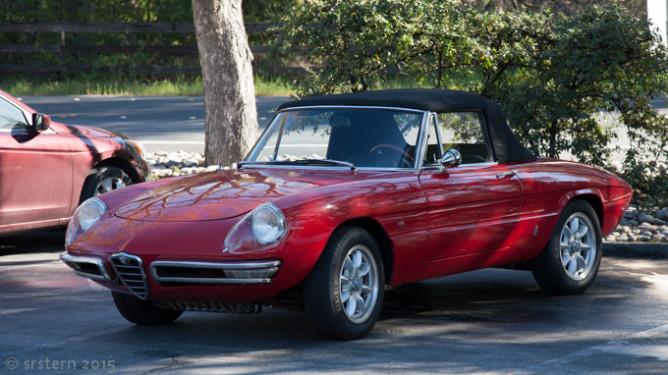 Circa 1967 Alfa Romeo Duetto
